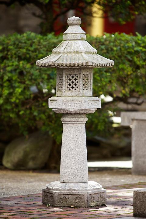 Stone bridge lantern.