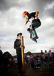 Pix: Shaun Flannery/shaunflanneryphotography.com...COPYRIGHT PICTURE>>SHAUN FLANNERY>01302-570814>>07778315553>>..2nd September 2012..Area 51 2012 Skate Jam..Sprotbrough skate park, Doncaster.