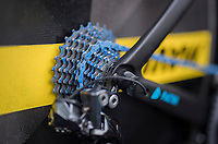 CeramicSpeed UFO produced a blue 'UFO' super friction-free coating on their chains that is being used in the #tdf2017<br /> <br /> 104th Tour de France 2017<br /> Stage 1 (ITT) - Düsseldorf › Düsseldorf (14km)