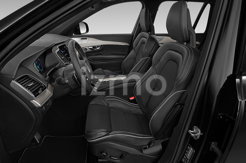 Front seat view of a 2020 Volvo XC90 R-Design 5 Door SUV front seat car photos