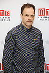 Jonny Lee Miller attends the 'INK' cast photo call and rehearsal at Manhattan Theatre Club Rehearsal Studios on March 5, 2019 in New York City.