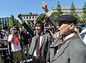 Japan PM Meets Anti-Nuclear Demonstrators