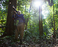 Photography in the jungles of Corcovado.
