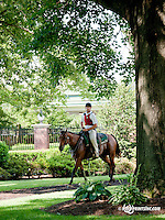 Colby Lavergne before The Oh Say Stakes at Delaware Park on 6/29/13