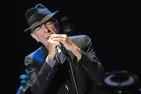 2016 11 11 Archive images of singer song writer Leonard Cohen, Athens, Greece