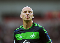 Jonjo Shelvey of Swansea City during the Barclays Premier League match between Sunderland and Swansea City played at Stadium of Light, Sunderland