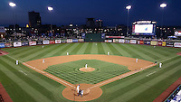 General view of the South Bend Cubs game against the Cedar Rapids Kernels on June 5, 2015 at Four Winds Field in South Bend, Indiana.  South Bend defeated Cedar Rapids 9-4.  (Mike Janes/Four Seam Images)