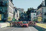 The start of La Course 2019 By Le Tour running 121km from Pau to Pau, France. 19th July 2019.<br /> Picture: ASO/Thomas Maheux | Cyclefile<br /> All photos usage must carry mandatory copyright credit (© Cyclefile | ASO/Thomas Maheux)