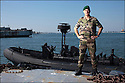 Juin 2010, Commandos Marine.<br /> CAPITAINE DE FRÉGATE LUC GANDER,<br /> commandant de la base des fusiliers marins et commandos (BFMC) de Lorient.