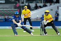 Eoin Morgan, London Spirit reverses for runs during London Spirit Men vs Trent Rockets Men, The Hundred Cricket at Lord's Cricket Ground on 29th July 2021