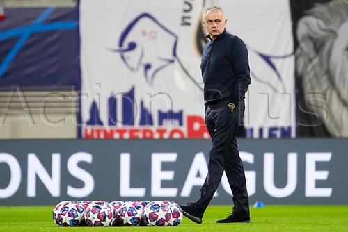 10th March 2020, Red Bull Arena, Leipzig, Germany; EUFA Champions League, RB Leipzig v Tottenham Hotspur;  Trainer Jose Mourinho Tottenham Hotspur