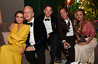 BEVERLY HILLS - JANUARY 5: (L-R) THE POLITICIAN cast member Zoey Deutch, Executive Producer Ryan Murphy, David Miller, Executive Producer Ian Brennan and Trilby Glover attend The Walt Disney Company 2020 Golden Globe Awards Nominee Celebration at The Disney Terrace on the Roof Deck at the Beverly Hilton on January 5, 2020 in Beverly Hills, California. (Photo by Frank Micelotta/The Walt Disney Company/PictureGroup)