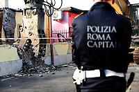 20181121 Demolizione di 8 ville dei Casamonica