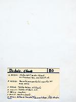 September 1983  File Photo - Claude Dubois<br /> Photo by Denis Alix - Agence Quebec Presse
