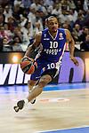 Anadolu Efes´s Dontaye Draper during 2014-15 Euroleague Basketball Playoffs second match between Real Madrid and Anadolu Efes at Palacio de los Deportes stadium in Madrid, Spain. April 17, 2015. (ALTERPHOTOS/Luis Fernandez)