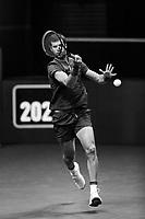 Rotterdam, The Netherlands, 5 march  2021, ABNAMRO World Tennis Tournament, Ahoy,  Quarter final: Karen Kachanov (RUS).<br /> Photo: www.tennisimages.com/henkkoster