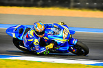 Team SUZUKI ECSTAR's rider Alex Rins of Spain rides during the MotoGP Official Test at Chang International Circuit on 16 February 2018, in Buriram, Thailand. Photo by Kaikungwon Duanjumroon / Power Sport Images