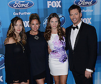 Harry Connick Jr. + wife Jill Goodacre + children @ the American Idol Farewell Season finale held @ the Dolby Theatre.<br /> April 7, 2016