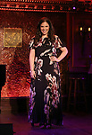 "Lindsay Mendez during her ""Returns"" press preview on October 3, 2018 at Feinstein's/54 Below in New York City."