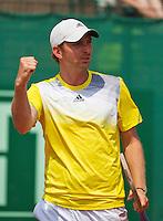 11-07-13, Netherlands, Scheveningen,  Mets, Tennis, Sport1 Open, day four,Matwe Middelkoop (NED)<br /> <br /> <br /> Photo: Henk Koster