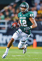 September 15, 2012: Baylor inside receiver LEVI NORWOOD (42), in action during NCAA Football game at the Floyd Casey Stadium in Waco, TX. Bears defeat Bearkats 48-23.