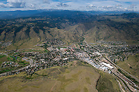 Golden, Colorado and Coors beer plant. Aug 21, 2014. 813055