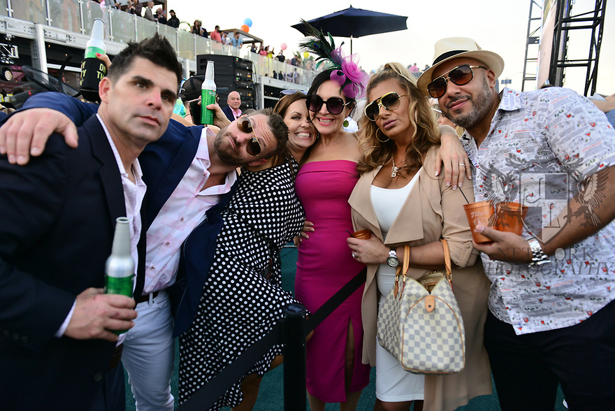 HALLANDALE BEACH, FL - JANUARY 25: Guest attend the 2020 Pegasus World Cup Championship Invitational Series at Gulfstream Park - David Grutman's LIV Stretch Village on January 25, 2020 in Hallandale Beach, Florida.  ( Photo by Johnny Louis / jlnphotography.com )