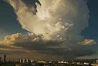 Massive Thunder Cloud over part of Manila, Philippines