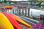 Kayaks in Boothbay Harbor, Boothbay, ME, USA
