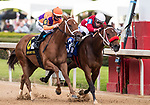 April 17, 2021:  #3 Letruska trained by Fausto Gutierrez with Irad Ortiz, Jr up wins the 57th Running of The Apple Blossom for owners St George Stable.