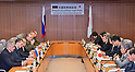 Japan and Russia Defense Ministers meeting in Tokyo