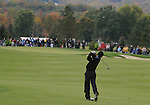 4 October 2008: Charles Howell III hits an approach shot during the third round at the Turning Stone Golf Championship in Verona, New York.