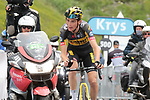 Sepp Kuss (USA) Jumbo-Visma 6th on the final climb of Luz-Ardiden during Stage 18 of the 2021 Tour de France, running 129.7km from Pau to Luz-Ardiden, France. 15th July 2021.  <br /> Picture: Colin Flockton   Cyclefile<br /> <br /> All photos usage must carry mandatory copyright credit (© Cyclefile   Colin Flockton)