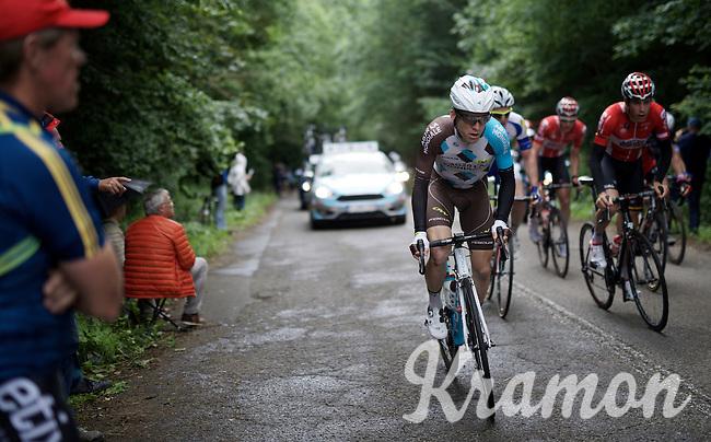Jan Bakelants (BEL/Ag2r-LaMondiale)<br /> <br /> Belgian National Road Cycling Championships 2016<br /> Les Lacs de l'Eau d'Heure