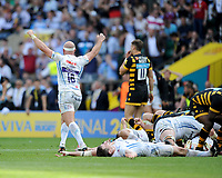 Jack Yeandle of Exeter Chiefs celebrates winning the Premiership Rugby Final at Twickenham Stadium on Saturday 27th May 2017 (Photo by Rob Munro)
