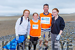 Emma, Leah, Pat and Sarah Buckley from Abbeydorney taking part in the Banna Beach Clean up of rubbish on Saturday