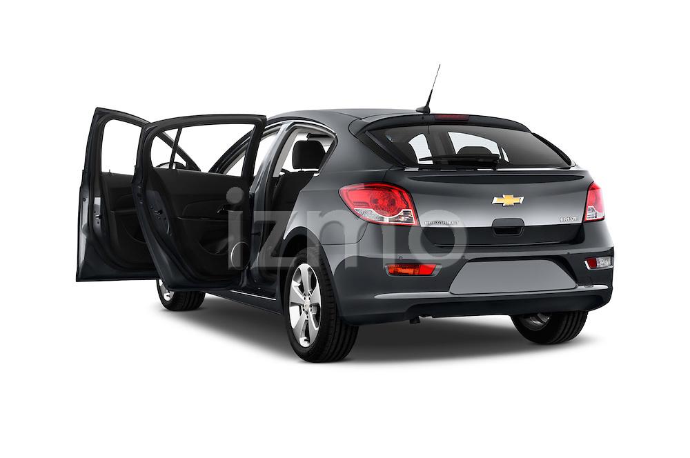Rear three quarter door view of a 2013 Chevrolet CRUZE LTZ 5 Door Hatchback 2WD