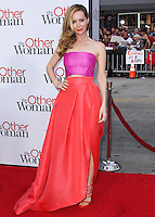 """WESTWOOD, LOS ANGELES, CA, USA - APRIL 21: Actress Leslie Mann arrives at the Los Angeles Premiere Of Twentieth Century Fox's """"The Other Woman"""" held at the Regency Village Theatre on April 21, 2014 in Westwood, Los Angeles, California, United States. (Photo by Xavier Collin/Celebrity Monitor)"""