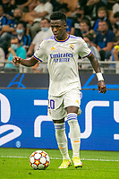 Milan, Italy - september 15 2021 - vinicius junior in action during Inter- Real Madrid champions league