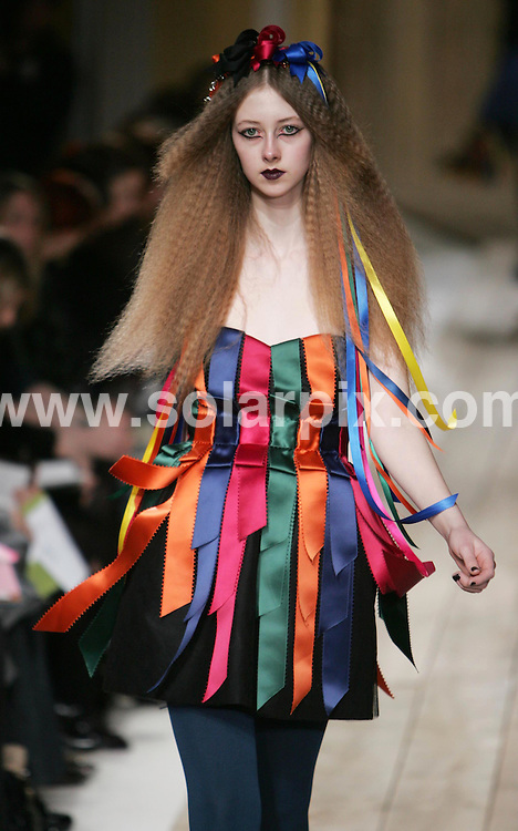 **ALL ROUND PICTURES FROM SOLARPIX.COM**.**NO UK NEWSPAPER PUBLICATION **UK MAGAZINE PUBLICATION ONLY** AND NO PUBLICATION IN FRANCE, SCANDINAVIA, AUSTRALIA AND GERMANY** .the Luella catwalk show at London Fashion Week, London, UK. 14th February 2008..This pic: Luella catwalk show..JOB REF: 5786 SFE       DATE: 14_02_2008.**MUST CREDIT SOLARPIX.COM OR DOUBLE FEE WILL BE CHARGED* *UNDER NO CIRCUMSTANCES IS THIS IMAGE TO BE REPRODUCED FOR ANY ONLINE EDITION WITHOUT PRIOR PERMISSION*