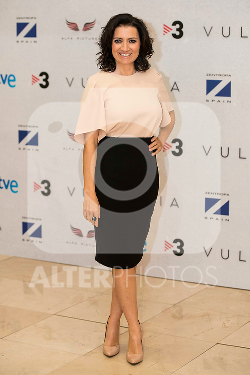 """Silvia Abril during the presentation of the film """"Vulcania"""" at Cines Princesa in Madrid, February 29, 2016<br /> (ALTERPHOTOS/BorjaB.Hojas)"""