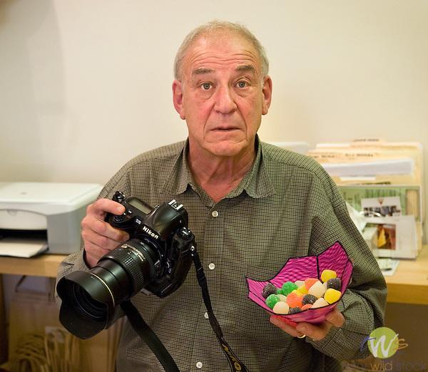 Portrait by Richard Karp of Terry Wild, photographer.