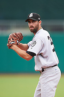 Jackson Generals pitcher Tony Zych (22) gets ready to deliver a pitch during a game against the Montgomery Biscuits on April 29, 2015 at Riverwalk Stadium in Montgomery, Alabama.  Jackson defeated Montgomery 4-3.  (Mike Janes/Four Seam Images)