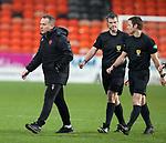 13.12.2020 Dundee Utd v Rangers: Dundee Utd manager Micky Mellon
