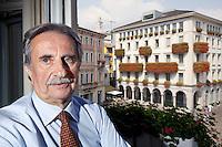 Switzerland. Canton Ticino. Lugano. Giorgio Giudici.  Giorgio Giudici (born 29 May 1945) is a Swiss architect and politician. He was mayor of Lugano from 1984 to 2013. His political party is the Partito liberale radicale svizzero (PLR). 5.09.13 © 2013  Didier Ruef