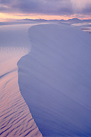 Clearing storm <br /> Heart of Sands<br /> White Sands National Monument<br /> Chihuahuan Desert,  New Mexico