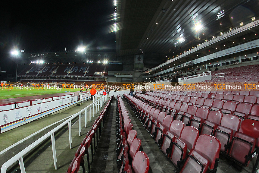 General view of the ground ahead of West Ham United Ladies vs Tottenham Hotspur Ladies, FA Women's Premier League Football at the Boleyn Ground, Upton Park