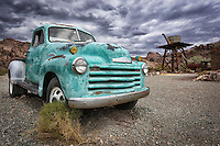 Turquoise Treasure - Chevy Truck - Southwest