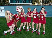Stanford Lacrosse Team photo. Photo taken on Wednesday, January 15, 2014