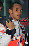 03 Apr 2009, Kuala Lumpur, Malaysia ---     Vodafone McLaren Mercedes driver Lewis Hamilton of Great Britain in the first practice session during the 2009 Fia Formula One Malasyan Grand Prix at the Sepang circuit near Kuala Lumpur. Photo by Victor Fraile --- Image by © Victor Fraile / The Power of Sport Images